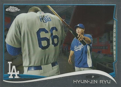 Sorting Out the 2014 Topps Chrome Baseball Variations 27