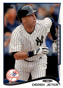 Derek Jeter Topps Cards Through the Years 23