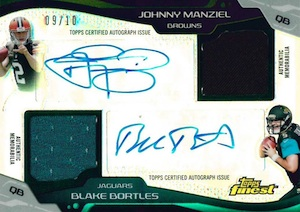 2014 Topps Finest Football Cards 25