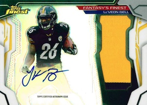 2014 Topps Finest Football Cards 29