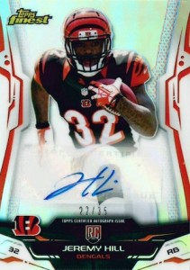 2014 Topps Finest Football Cards 22