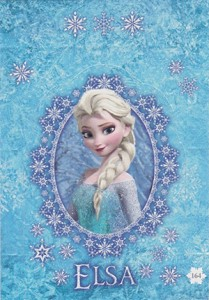 2014 Topps Frozen Activity Cards Pop-Up