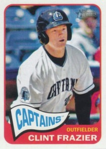 2014 Topps Heritage Minor League Baseball Base Variation Clint Frazier 90