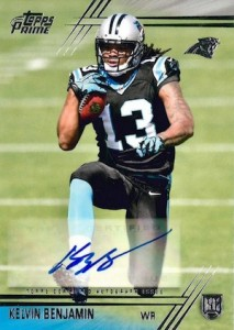 2014 Topps Prime Football Autographed Rookie Variations