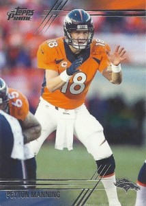 2014 Topps Prime Football Base Peyton Manning
