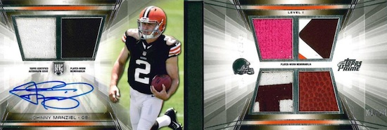2014 Topps Prime Football Cards 26