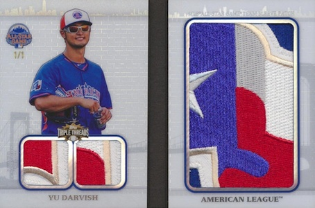 2014 Topps Triple Threads Baseball Cards 23