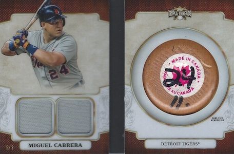 2014 Topps Triple Threads Baseball Cards 28