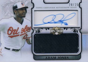 2014 Topps Triple Threads Baseball Cards 36