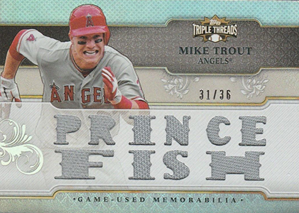 2014 Topps Triple Threads Baseball Cards 34