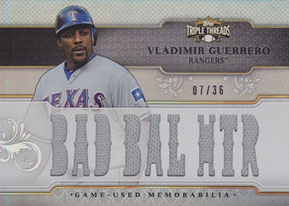 Vlad the Hall of Famer! Top 10 Vladimir Guerrero Baseball Cards 4