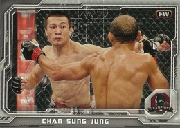 2014 Topps UFC Champions Nickname Variations Guide 33