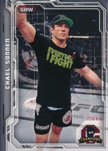 2014 Topps UFC Champions Nickname Variations Guide 7