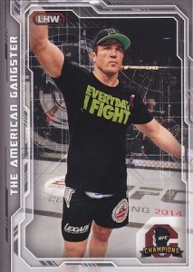 2014 Topps UFC Champions Nickname Variations Guide 8