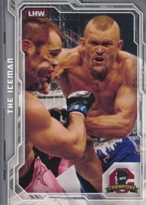 2014 Topps UFC Champions Nickname Variations Guide 48
