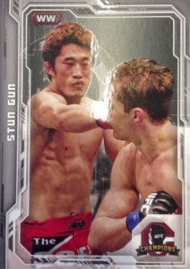 2014 Topps UFC Champions Nickname Variations Guide 44