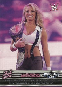 2014 Topps WWE Road to Wrestlemania Queen of Wrestlemania