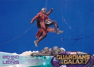 2014 Upper Deck Guardians of the Galaxy Behind the Lens
