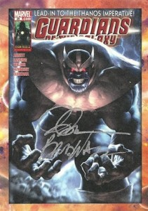 2014 Upper Deck Guardians of the Galaxy Classic Covers Autographs