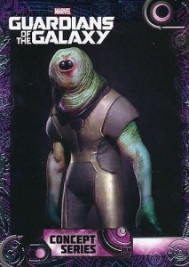 2014 Upper Deck Guardians of the Galaxy Concept Series