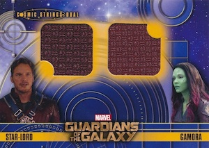 2014 Upper Deck Guardians of the Galaxy Cosmic Strings Dual Relic
