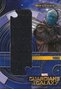 2014 Upper Deck Guardians of the Galaxy Cosmic Strings Jumbo Oversized Relic