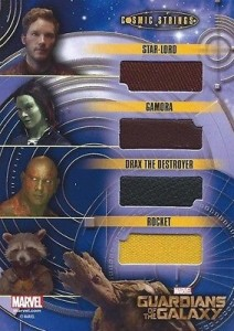 2014 Upper Deck Guardians of the Galaxy Cosmic Strings Max Relic