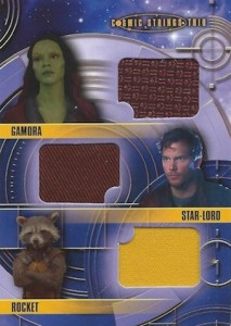 2014 Upper Deck Guardians of the Galaxy Cosmic Strings Triple Relic