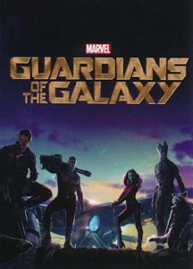 2014 Upper Deck Guardians of the Galaxy Movie Posters