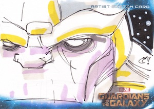 2014 Upper Deck Guardians of the Galaxy Sketch