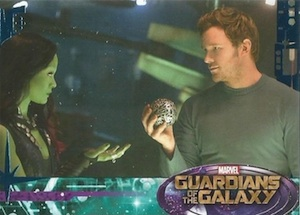 2014 Upper Deck Guardians of the Galaxy base