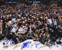 Anaheim Ducks Team Signed Photo