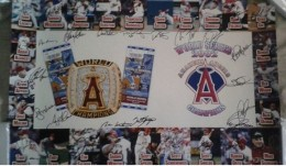 Angels Team Signed photo