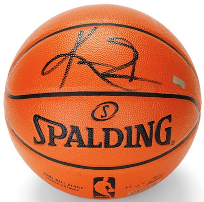 Cleveland Cavaliers Kyrie Irving Signed Basketball