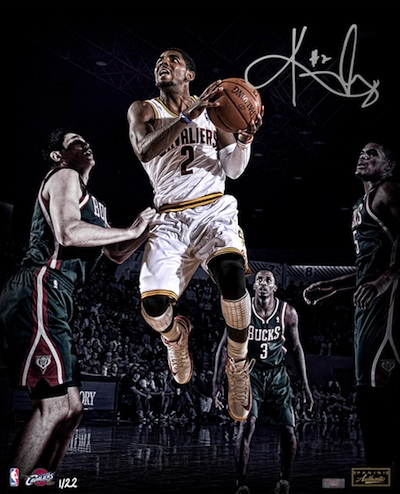 Cleveland Cavaliers Kyrie Irving Signed Photograph