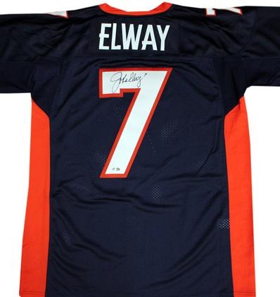 3003777f Signed Denver Broncos Jerseys · Denver Broncos Collecting and Fan Guide 58