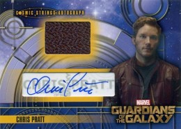 2014 Upper Deck Guardians of the Galaxy Autographs Gallery and Guide 15