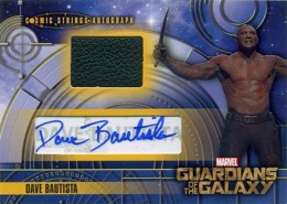 2014 Upper Deck Guardians of the Galaxy Autographs Gallery and Guide 16