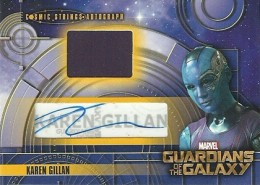 2014 Upper Deck Guardians of the Galaxy Autographs Gallery and Guide 19