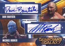 2014 Upper Deck Guardians of the Galaxy Autographs Gallery and Guide 12
