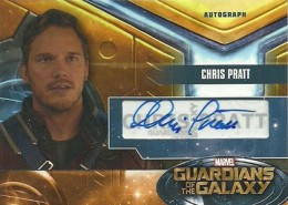 Guardians of the Galaxy Dual Autograph Chris Pratt