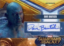 2014 Upper Deck Guardians of the Galaxy Autographs Gallery and Guide 5