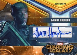 2014 Upper Deck Guardians of the Galaxy Autographs Gallery and Guide 2