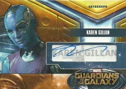 2014 Upper Deck Guardians of the Galaxy Autographs Gallery and Guide 3