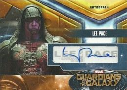 2014 Upper Deck Guardians of the Galaxy Autographs Gallery and Guide 7