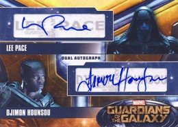 2014 Upper Deck Guardians of the Galaxy Autographs Gallery and Guide 11