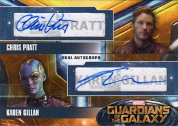 2014 Upper Deck Guardians of the Galaxy Autographs Gallery and Guide 13