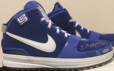 LeBron James Signed Sneakers