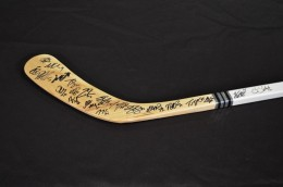 Minnesota Wild Team Signed Stick