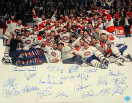 Montreal Canadiens Signed Photo